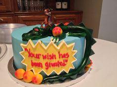 Dragon ballz cake custom:)