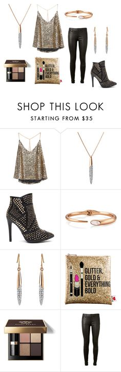 """""""Statement Jewellery"""" by buckleylondon on Polyvore featuring Sephora Collection, Bobbi Brown Cosmetics and AG Adriano Goldschmied"""