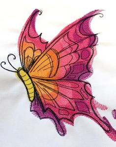 Urban Threads: The Spectrum Collection- fantastical watercolor inspired creatures for machine embroidery