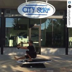 #CitySurfAustin working the #Hyperwear #SandBell!  #Repost  ・・・ Pistol Squat into a Full Henge. Repeat. Then down into 4 Single Legged Plyo-Pushups. Practice makes perfect! Improve balance, agility, strength, & endurance in our classes!|| #CitySurf #NoBadDays #ATX #Austin #Fitness #FitFam #FitSpo #Surf #Training #PottyWithRyan