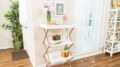 DIY Laundry Rack Shelf 5/27