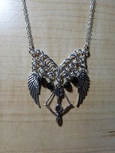 Daryl Dixon Inspired Necklace The Walking Dead par HausOfFrost, $20.00