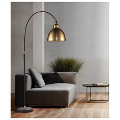 Finding the perfect lamp for your home can be tough since there is such a wide variety of lamps available. Get the perfect living room lamp, bed room lamp, table lamp or any other type for your specific area. Office Floor Lamps, Arched Floor Lamp, Modern Floor Lamps, Lamp Design, Interior, Home Decor, Lamps Living Room, Floor Lamps Living Room, Interior Design