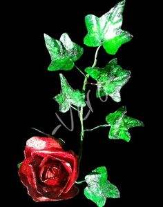 Composizione floreale edibile wafer paper