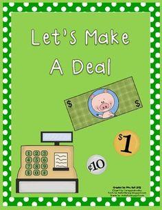 FREE!!! Let's Make A Deal- Unit Rate Activity