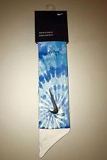 Light Blue Custom Nike Dri-Fit Head Tie Headband 2.0 - White Black - Tennis