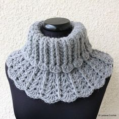 LyubavaCrochet's Grey Neck Warmer for Women and Girls – Stricken Crochet Daisy, Chunky Crochet, Knit Crochet, Crochet Hook Sizes, Crochet Hooks, Crochet Scarves, Crochet Designs, Crochet Patterns, Crochet Neck Warmer