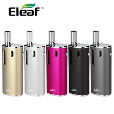 100% Original Eleaf INano Starter Kit with 0.8ml INano Atomizer and 650mAh Built-in Battery Electronic Cigarette Inano Kit #Affiliate