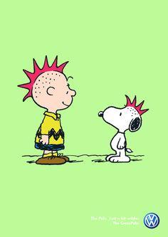 Volkswagen & Charlie Brown & Snoopy :)