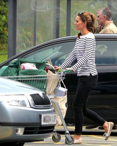 Kate Middleton, looking great in casual wear