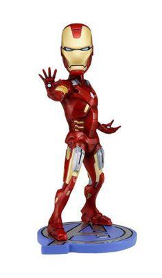 Cabezón Los Vengadores 2012 (The Avengers). Iron Man, 18 cms. NECA