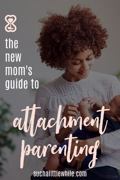 Curious about attachment parenting with your newborn?  Learn what the 7 B's are all about and how to get started with your baby. Peaceful Parenting, Gentle Parenting, Parenting Hacks, Attachment Parenting Quotes, 4th Trimester, Cry It Out, Postpartum Care, Pregnancy Stages, Sensory Activities