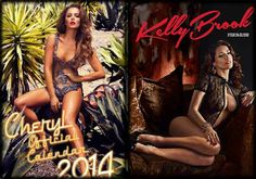 Kelly Brook becomes the hottest Christmas calendar girl, beats Cheryl Cole (see pics)