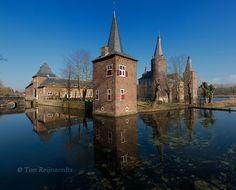 Kasteel Hoensbroek in Limburg, foto van Ton Reijnaedts