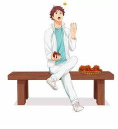 Oikawa Tooru, Iwaoi, Bokuaka, Haikyuu Manga, Haikyuu Fanart, Cute Anime Boy, I Love Anime, Anime Boys, Best Friens