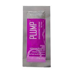 $35 Doc Johnson Plump / Sobre c/7g / Crema / Estimulante para la erección, incrementa la circulación.