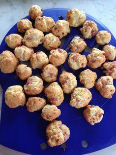 cookies lardons gruyère