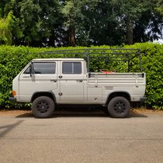 A beautifully restored VW Doka. Clearly a well loved vehicle, that appears to also have been their work truck. Volkswagen, Vw T, Vw Camper, Campers, Vw Syncro, Vintage Trucks, Toys For Boys, Fast Cars, Motorhome