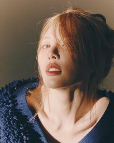 Hyuna Twitter, K Pop, Hyuna Kim, Girls Magazine, Brown Eyed Girls, E Dawn, Aesthetic People, Hey Girl, Messy Hairstyles