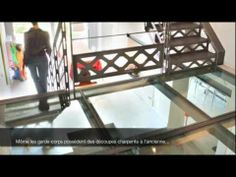 ▶ ESCALIERS DECORS - Escalier Charpente - Style San Fracisco.mov - YouTube
