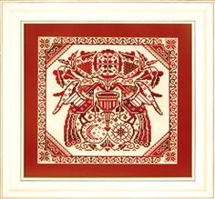 Nordic Needle is a global supplier of embroidery supplies with a mission to preserve heritage embroidery techniques through education and promotion so that generations to come will be able to enjoy the cultural significance and joy of needlework. Rooster Cross Stitch, Blackwork Cross Stitch, Cute Cross Stitch, Modern Cross Stitch, Cross Stitch Designs, Cross Stitch Patterns, Folk Embroidery, Cross Stitch Embroidery, Embroidery Designs