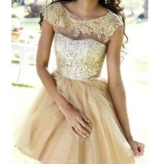 homecoming dress, short homecoming dress, party dress, short sparkle gold prom dress, evening dress, junior homecoming prom dress, 1446