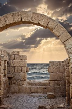 Caesarea Sunset . Israel - we were here just 2 1/2 months ago! Our second visit to Israel and hope to go back again.