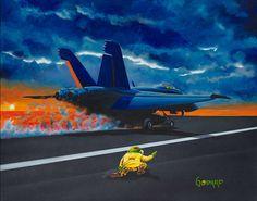 Michael Godard Navy Runway Model s N and All Other Michael Godard Prints   eBay