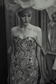 Backstage at Alexis Mabille Haute Couture S/S 2012