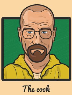 The Transformation of Walter White by Zone93 Designs in Bristol, UK