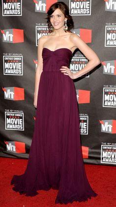 mandy moore // that dress.