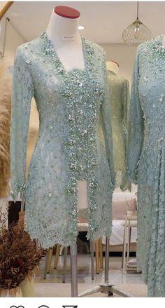 Model Kebaya Muslim, Model Kebaya Brokat Modern, Kebaya Modern Hijab, Dress Brokat Modern, Kebaya Hijab, Kebaya Lace, Kebaya Dress, Dress Pesta, Model Dress Batik