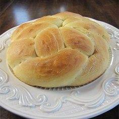 Rosca de Pascuas de limón