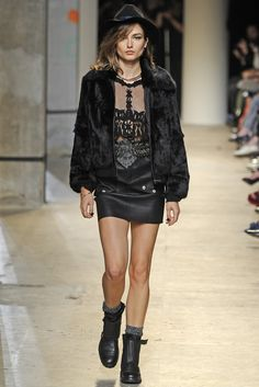 Zadig & Voltaire RTW Spring 2014 [Photo by Giovanni Giannoni]