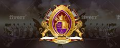 Create your new church seal logo from scratch by Oskingsconxept Seal Logo, Logo Design Services, Coat Of Arms, Badge, Initials, Create Yourself, Concept, Logos, Family Crest