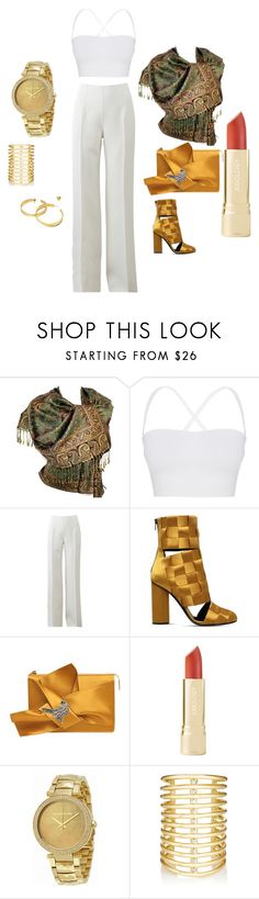 """""""Untitled #12"""" by emina-ahmetovic ❤ liked on Polyvore featuring Theory, Michael Kors, Marco de Vincenzo, N°21, Jules Smith and Tory Burch"""