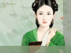 Beautiful Ancient Chinese Woman Paintings  9