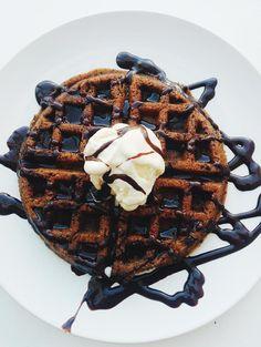 Waffles de masa de galletas Break 'n' Bake