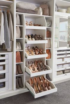 Bedroom storage solutions that dreams are made of . Bedroom storage solutions that dreams are made of . Walk In Closet Design, Bedroom Closet Design, Master Bedroom Closet, Closet Designs, Diy Bedroom, Small Master Closet, Custom Closet Design, Closet Renovation, Closet Remodel