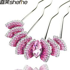 Smile luxury rhinestone crystal insert comb hair maker comb ** Be sure to check out this awesome product.