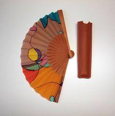 Abanico de seda pintado a mano-Abanico para bodas-Damas de Boho Hippie, Hand Fan, Chinese, Etsy, Inspiration, Art, Wedding Gifts, Handmade Gifts, Painted Fan