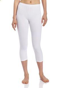 Capezio Women's Capri Legging,White,X-Small  Go to the website to read more description.