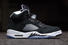News - Air Jordan V 'Oreo': back in black | FREE Global Sneaker Shipping | CrookedTongues.com — Selling soles since 2000