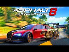 Asphalt 8 На взлёт Игры Гонки на Крутых Тачках Спорткарах Мультики про М...