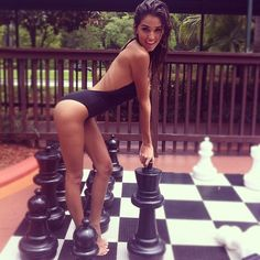 More ladies on chessboards