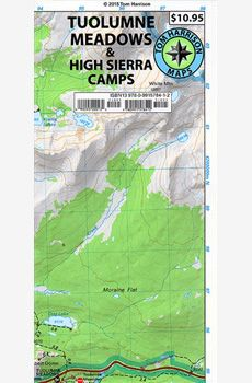 Map for hikers and other wilderness users. Hiking Maps, Trail Maps, Tuolumne Meadows, Pacific Crest Trail, John Muir, Geology, Easy Access, Wilderness, Camping