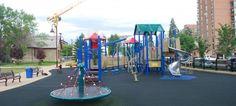 Haultain park playground Calgary, AB