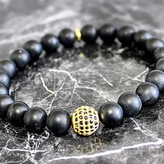 New Black Onyx Bracelets now available!! Classic, fashionable style,versatile, perfect for men or women.