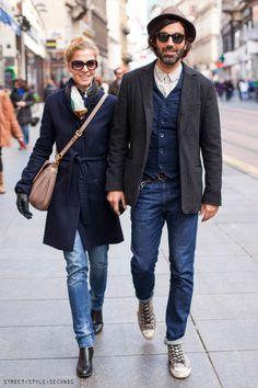 #streetstyleseconds, #stylish #couples