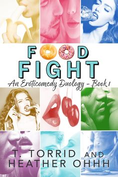 Title: Food Fight Series: Strip Mall Duology #1 Authors: T. Torrid & Heather Ohhh Genre: Eroticomedy (Erotica/Romantic Comedy) Cover Design: Juliana Cabrera, Jersey Girl Release Date: August 10…